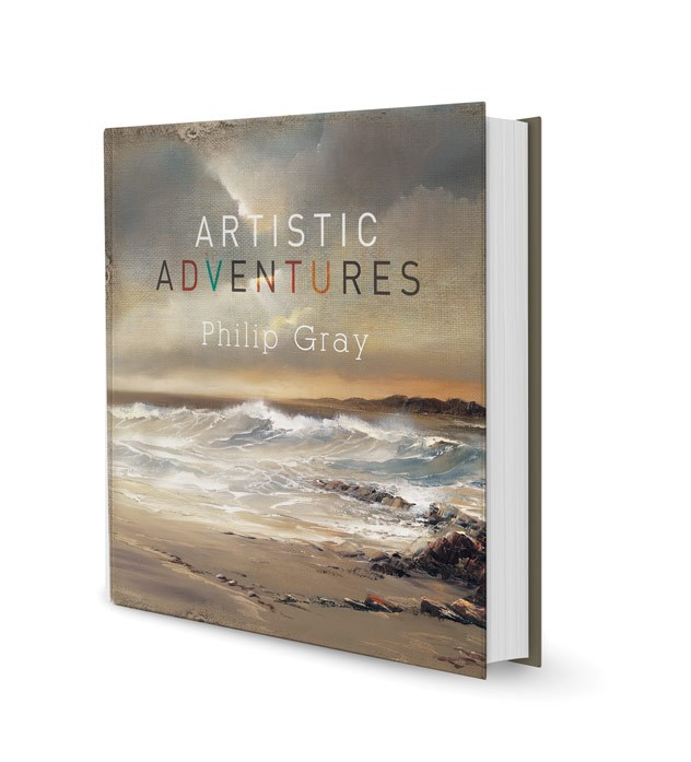 Artistic Adventures (Limited) by Philip Gray - Limited Edition Book sized 11x11 inches. Available from Whitewall Galleries